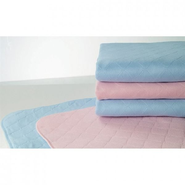 Washable Bed Pad without Wings, 70 x 85cm, 2L - Pink or Blue