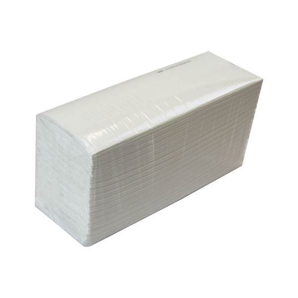 P51_3 C-fold White Hand Towels