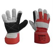 Warrior Red HQ Rigger Gloves, Size 10, Pack of 12 Pairs