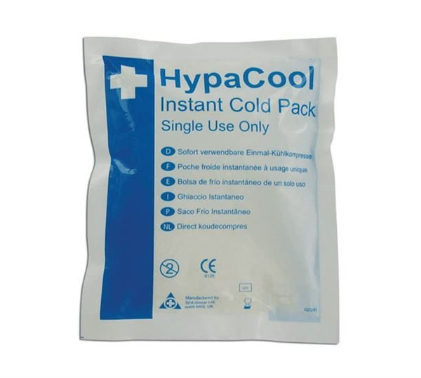 FA55 Instant Cold Pack Disposable,12.5 x 15cm Pack of 24