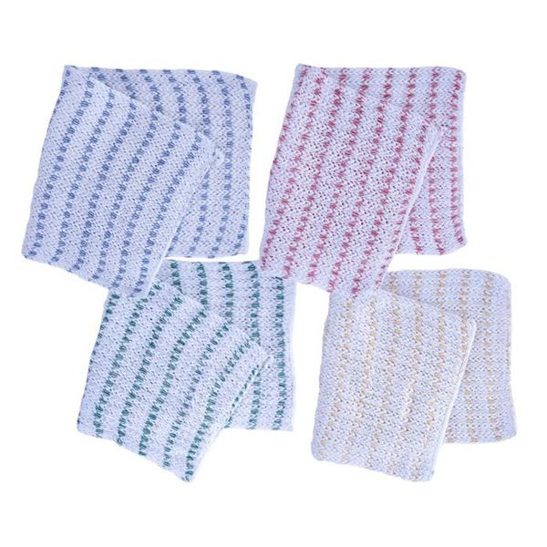 Biofresh Dish Cloth - Blue or Red - Pack of 10