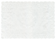 "Embossed Tray Papers 12""x16"" pack of 250"