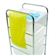 Yellow Bedside Waste Bags