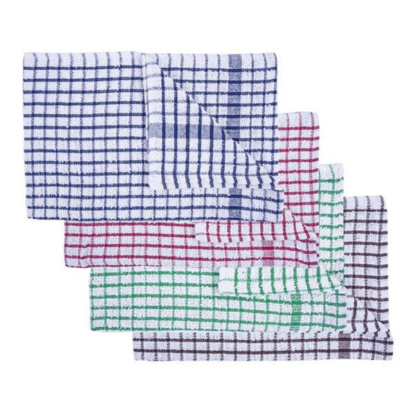 Terry Tea Towel Assorted Colours Pack of 10