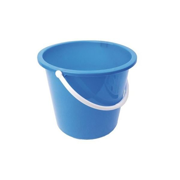 Bucket 10 Litre - Available in Blue and Red