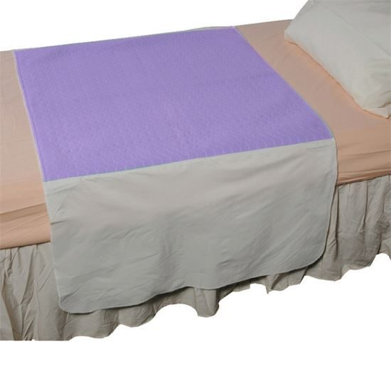 Washable Bed Pad Dura 3.2L absorbency 86 x 90cm Lilac