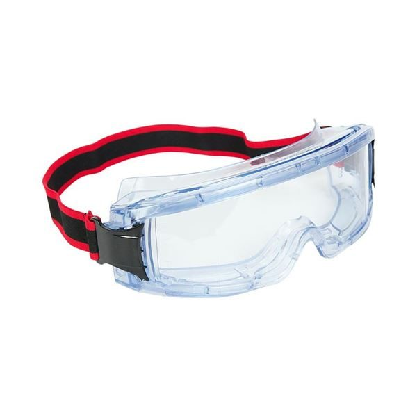 Warrior Deluxe Safety Goggles, Clear, Anti-Mist Lens