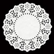 """Doyleys, Round, 4.5"""" White RD45, Pack of 250"""
