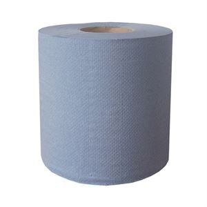 p4 Centre Feed Rolls 2ply Blue