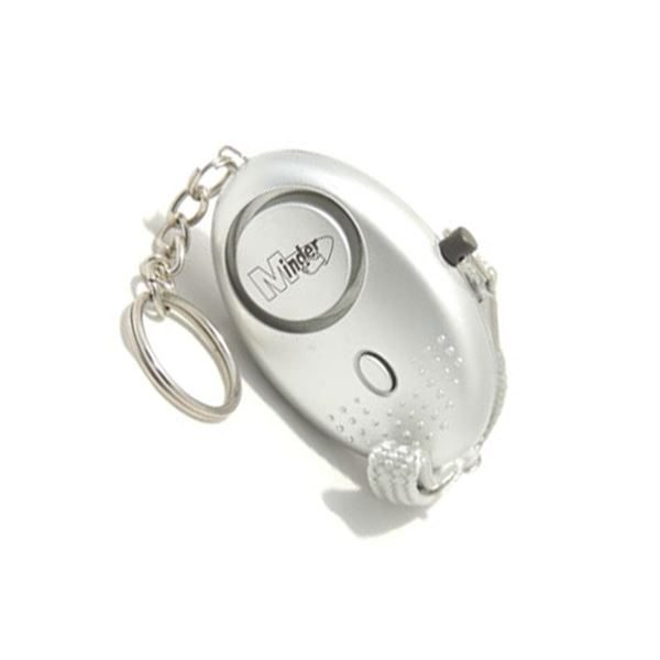 Mini Minder Key Ring Torch and Personal Alarm