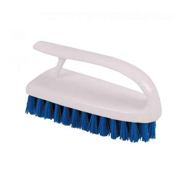 Abbey Washable Hand Held Scrubbing Brush - various colours