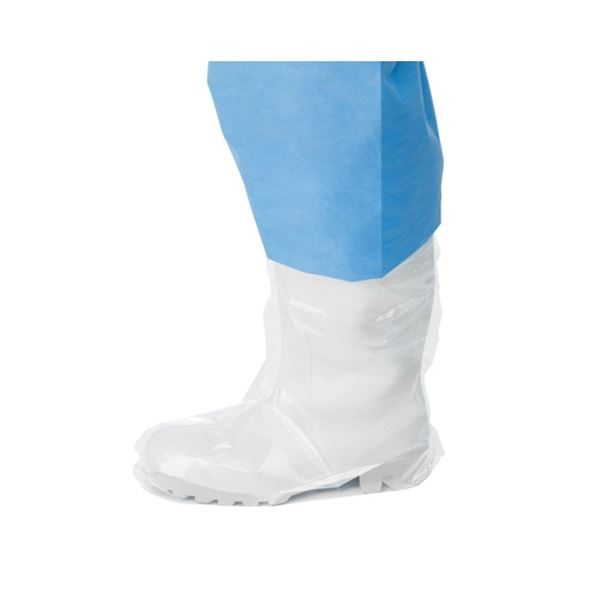 PY111 Healthguard LDPE Clear Polythene Boot Covers