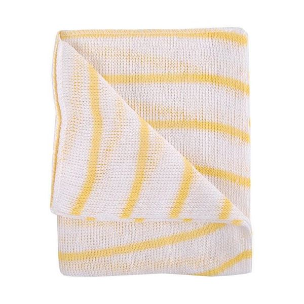 Abbey Stockinette Cleaning Cloths Yellow Pack of 10